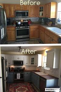 best 25 two tone cabinets ideas on pinterest two toned With kitchen cabinets lowes with hanging art on plaster walls
