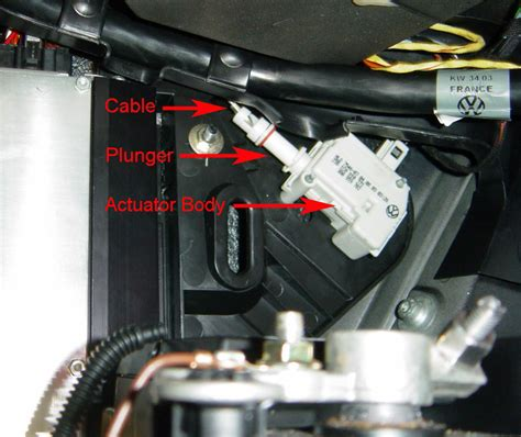 volkswagen passat questions gas lid switch  broken