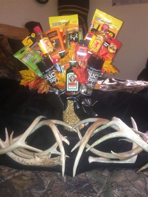 hunting season eve man bouquet gifts pinterest
