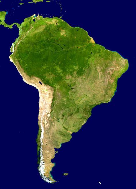 landkarte suedamerika satellitenkarte weltkartecom