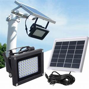Solar powered led dusk to dawn sensor outdoor security