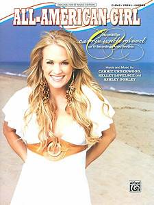 Sheet Music Carrie Underwood All American Girl Piano
