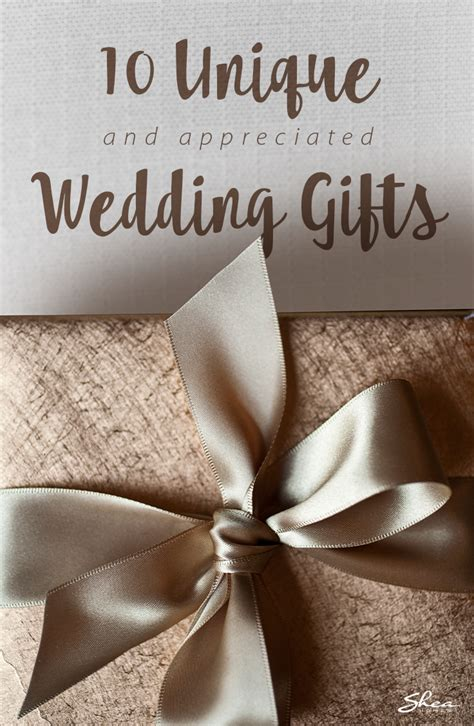 10 ideas for unique wedding gifts the newlyweds actually