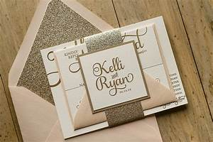 mind blowing sparkle wedding invitations theruntimecom With glitter wedding invitations online