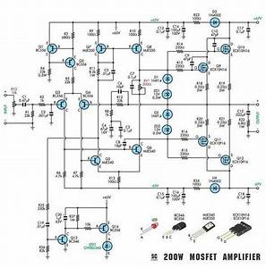 200w Subwoofer Amplifier Circuit