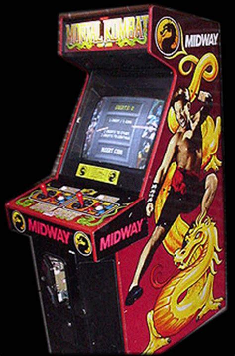 mortal kombat arcade cabinet mortal kombat rev 4 0 09 28 92 rom