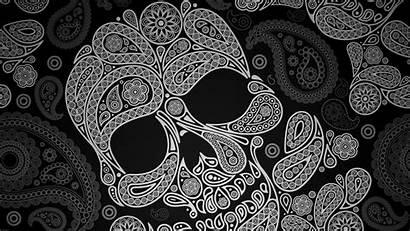 Skull Sugar Calavera Tags