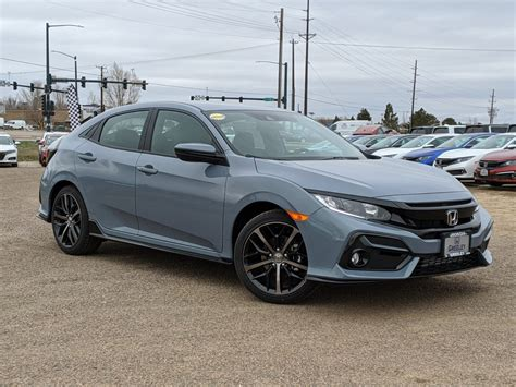 Maybe you would like to learn more about one of these? New 2020 Honda Civic Hatchback Sport Hatchback in Greeley ...
