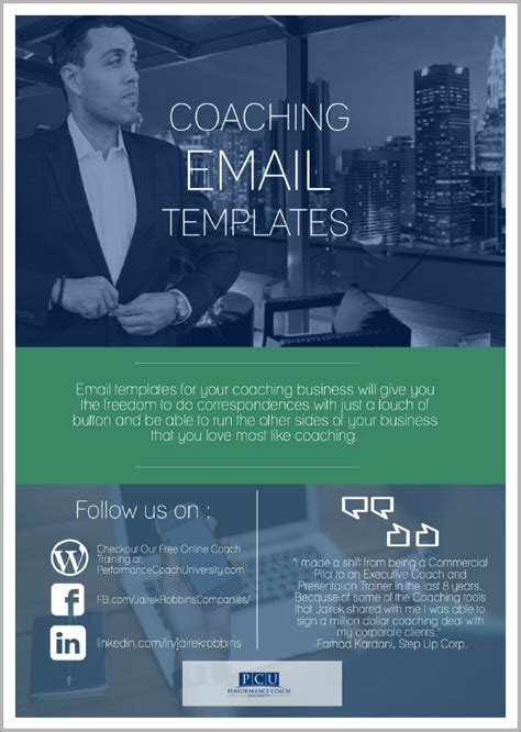 save time money   email templates  coaches