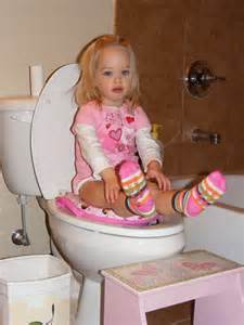 Girl Potty Training Accident
