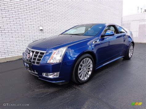 Cadillac Cts Blue opulent blue metallic 2012 cadillac cts 4 awd coupe