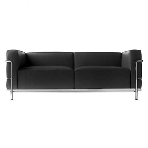 Corbusier Loveseat by Le Corbusier Lc3 Sofa Cassina Cassina Ambientedirect