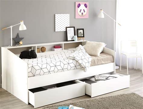 Jugendbett Bett 90x200 Weiß Kojenbett Kinderbett 2x