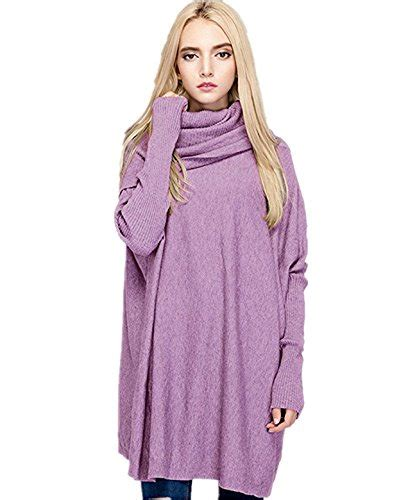 salent womens turtleneck oversized pullover sweaters