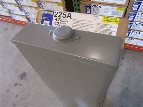 !new! Square D Qo342l225grb 3 Phase 225 Amp Outdoor Mlo