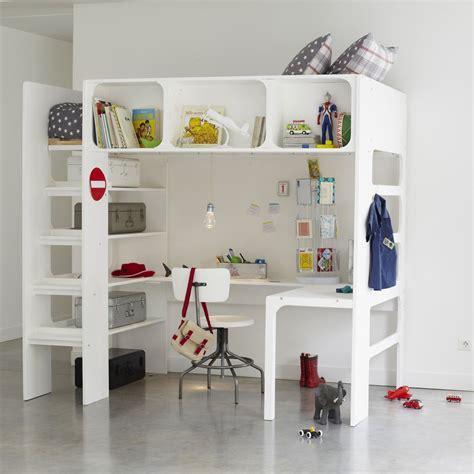 lit et bureau la redoute lit bureau et commode gain de place bcn