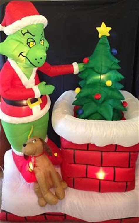 grinch  ft animated airblown outdoor inflatable