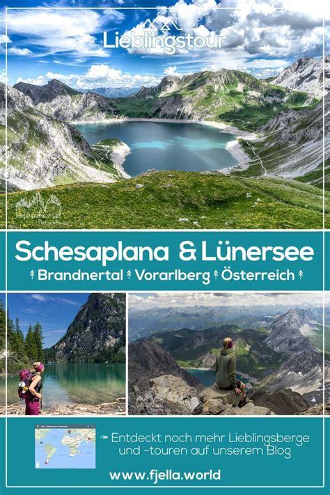 wanderung schesaplana gipfel und luenersee oesterreich wandern road trip europe austria und