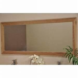 Cadre 70 X 100 : grand miroir rectangle en teck massif 160 x 70 achat ~ Dailycaller-alerts.com Idées de Décoration
