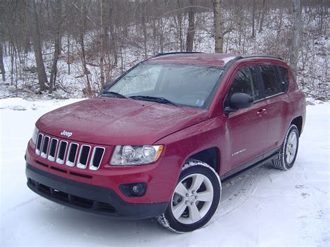 test drive  jeep compass north
