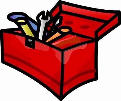 Tools Tool Clip Toolbox Clipart Box Pen