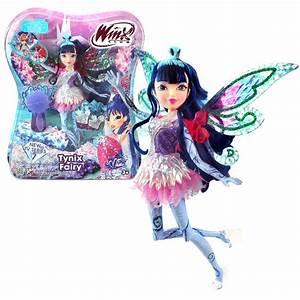 Winx Club - Tynix Fairy Doll - Musa 28cm with Magic Robe