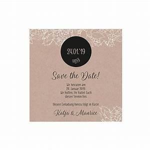 Save The Date Karte : save the date karte oder dankeskarte rosie natur ~ A.2002-acura-tl-radio.info Haus und Dekorationen