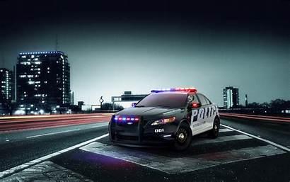 Police Interceptor Ford Wallpapers Desktop Cop Cars