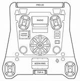 Polaris Rzr Vector Template Coloring Sketch sketch template