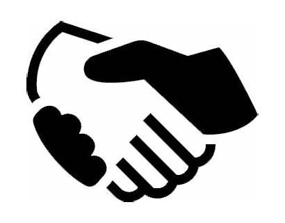 Disputes Icon Resolve Mediation Handshake