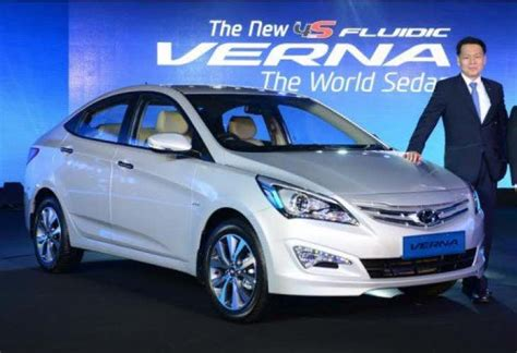 Hyundai Verna Price In India by 2015 Hyundai Verna New Model Price List In India Product