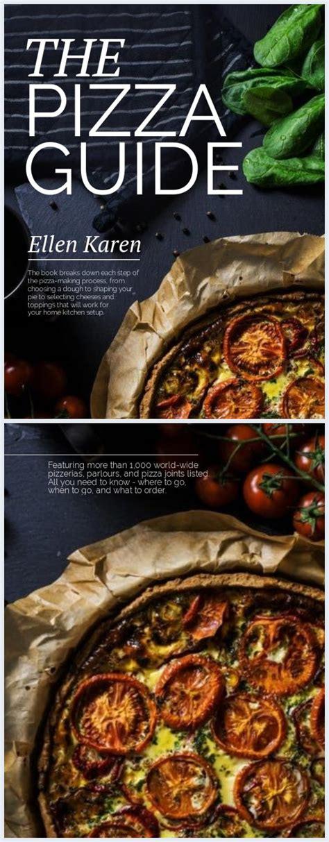 pizza recipe book cover template flipsnack