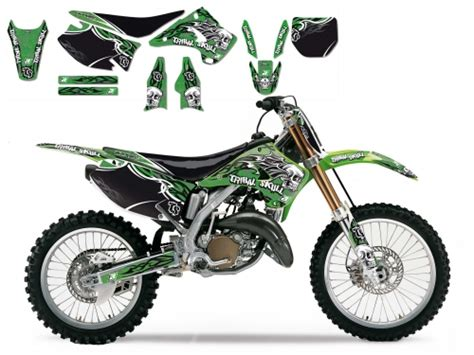 kit deco 125 kx kit deco tribal skull 2 125 250 kx 2003 2008 crossmoto fr 01 09 2017