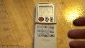 Air Conditioner Remote Control Heat And Cool Modes Info