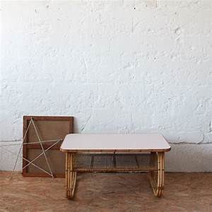 Table Basse Rotin : mobilier en rotin table basse atelier du petit parc ~ Teatrodelosmanantiales.com Idées de Décoration
