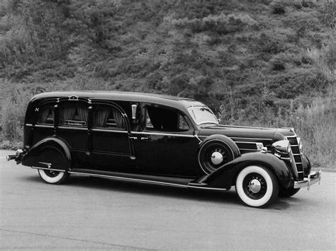 Chrysler Hearse by 1935 Miller Chrysler Deluxe Airstream Funeral Coach C Z