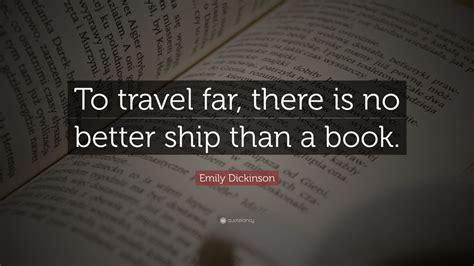 emily dickinson quote  travel