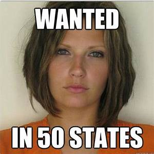 Attractive Convict Meme Girl: Megan Simmons McCullough ...