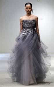 i heart wedding dress vera wang gray dress wedding With grey wedding dresses