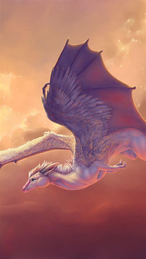Обои существо, 4k, 5k, создание, крылья, дракон, пегас