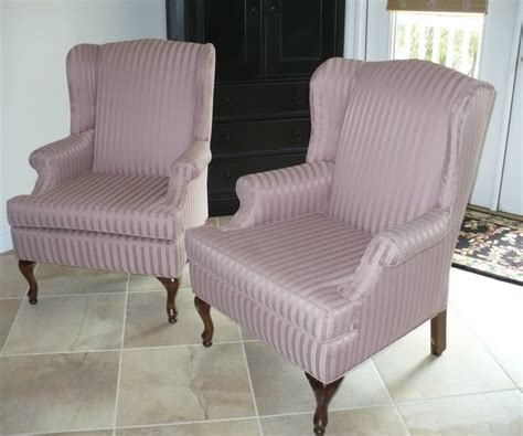 Garage Twill Wingback Chair Slipcover Wingback