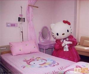 Chambre Hello Kitty : hello kitty sponsoring d 39 un hopital en chine marketing chine ~ Voncanada.com Idées de Décoration