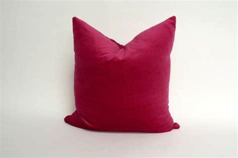 Raspberry Living Room Accessories by Raspberry Velvet Pillow Raspberry Pink Velvet