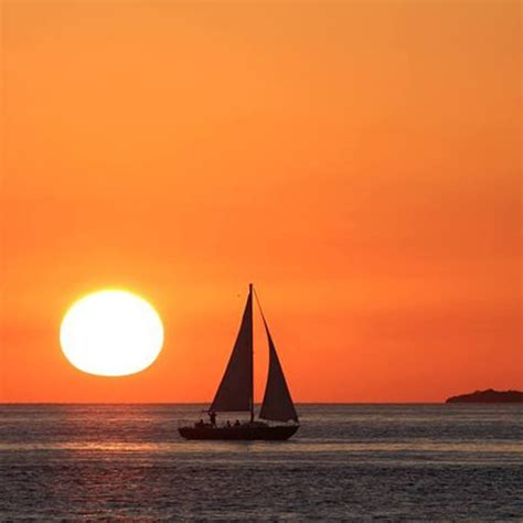 Key West Sailboat by Sunset Sail Key West A Private Charter Boat Fleet In Key