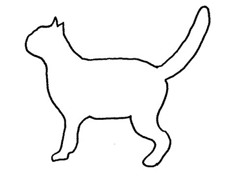 cat outline caitlyn pinterest