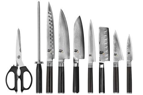 Shun Classic Knife Set 10 piece Block   Japanese Chef