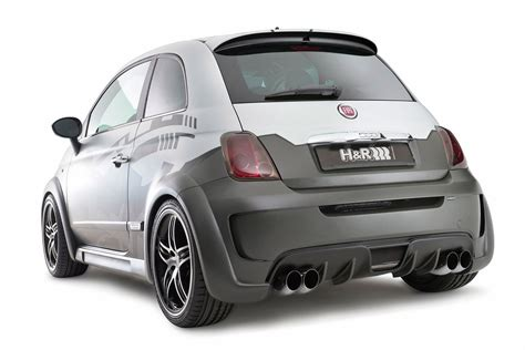 Fiat 500 Abarth Tune hamann and h r jointly tune the fiat 500 abarth with 275hp