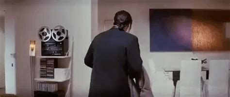 Gifs And Memes - confused vincent vega gifs find share on giphy