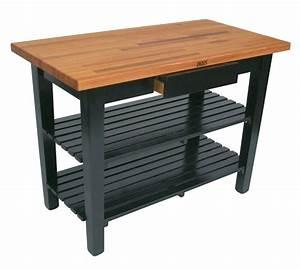 Oak Butcher Block Kitchen Table — DESJAR Interior : Types