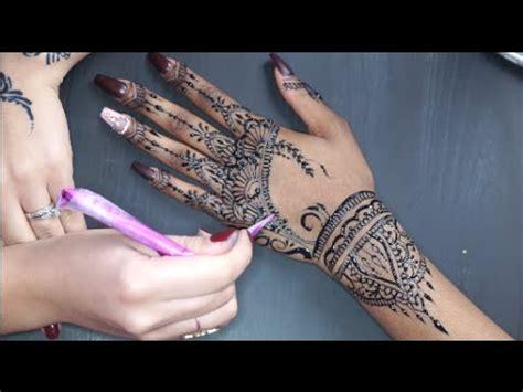 rihanna inspired henna design jagua youtube